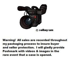 Warning! All Sales are Recorded